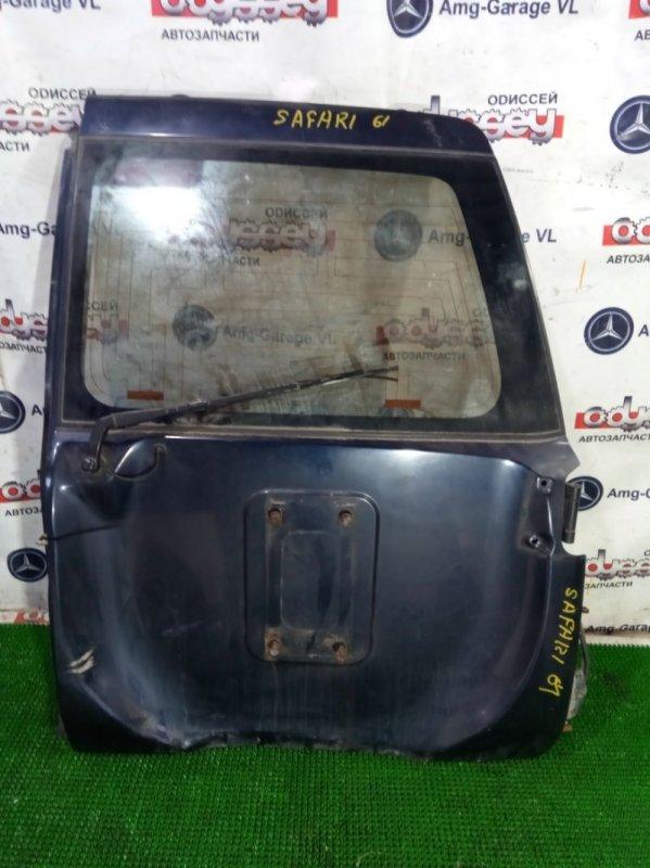 Дверь 5-я Nissan Safari WTY61-000176 ZD30DDTI-019955 2000