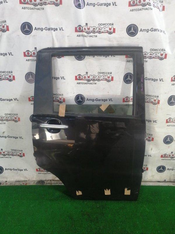 Дверь Daihatsu Tanto L455S KF-VE 2010 задняя правая
