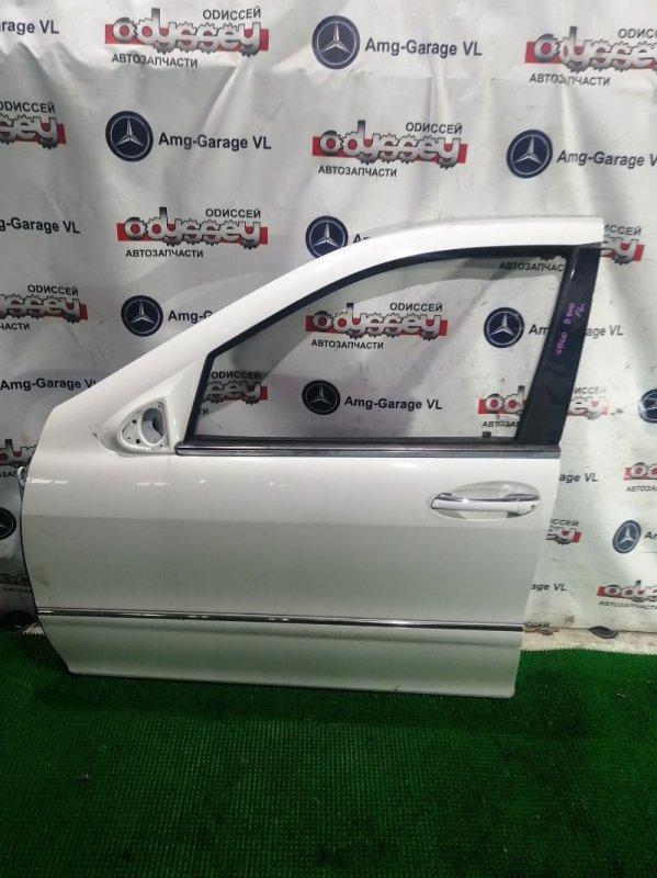 Дверь Mercedes S500 W220 113.960 2001 передняя левая