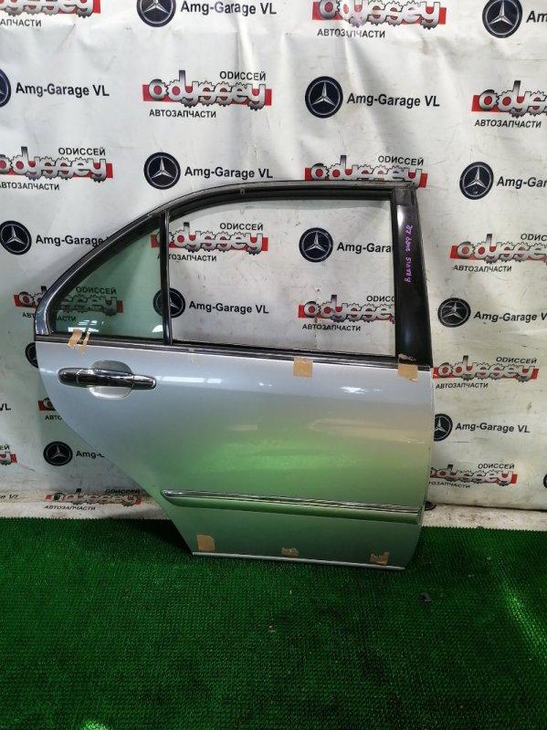 Дверь Toyota Brevis JCG10 1JZ-FSE 2002 задняя правая