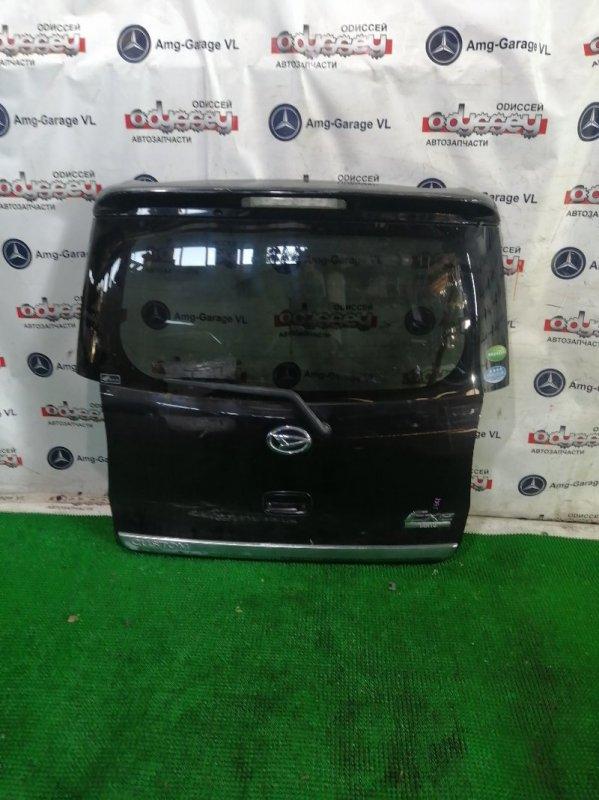 Дверь 5-я Daihatsu Tanto L455S KF-VE 2010