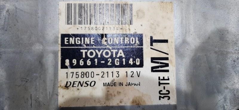 Блок efi Toyota Corona CT211 3C-TE 1998
