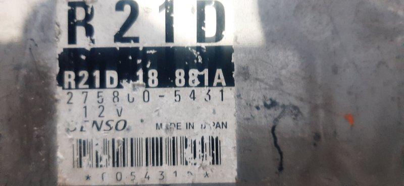 Блок efi Mazda Bongo SK22 R2-837741