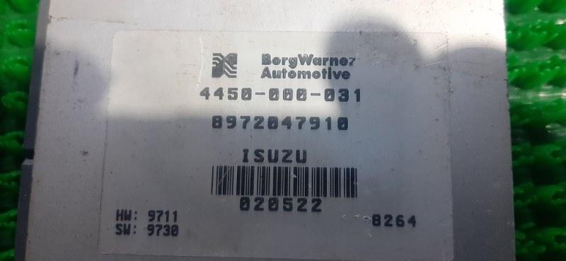 Блок управления автоматом Isuzu Bighorn UBS26GW 6VE1