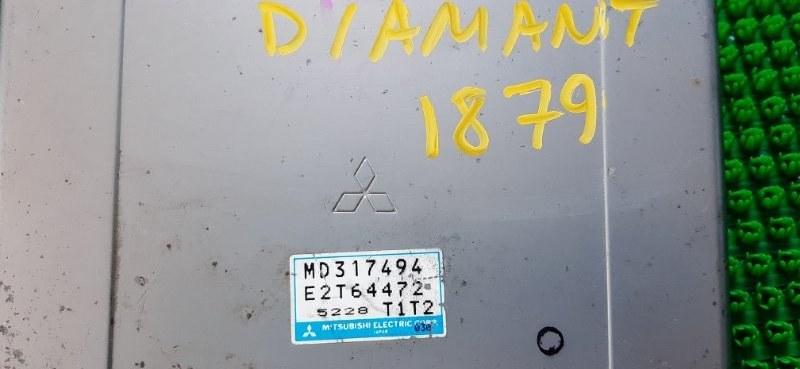 Блок efi Mitsubishi Diamante F36A 6G72-N20371 1995