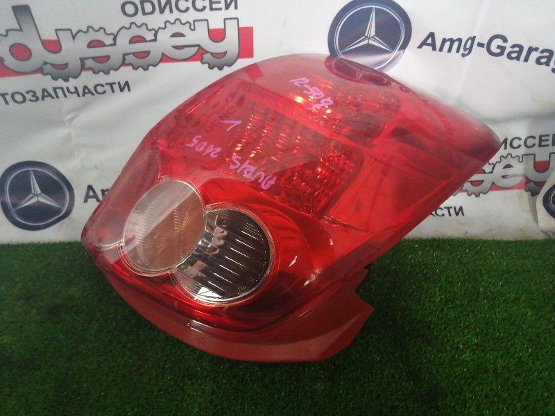 Стоп Toyota Auris NZE154H 1NZ-FE 2009 задний левый