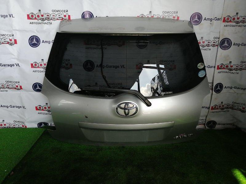 Дверь 5-я Toyota Auris NZE154H 1NZ-FE 2009