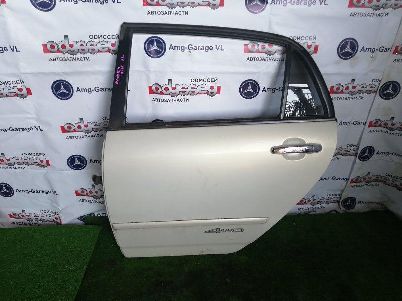 Дверь Toyota Allex ZZE124 1ZZ-FE 2002 задняя левая