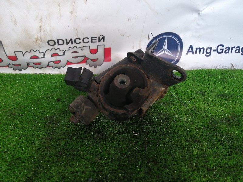 Подушка двигателя Toyota Allex ZZE124 1ZZ-FE 2002 передняя левая