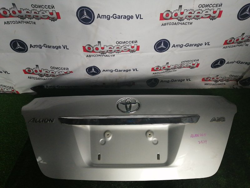 Крышка багажника Toyota Allion ZRT260 2ZR-FE 2007