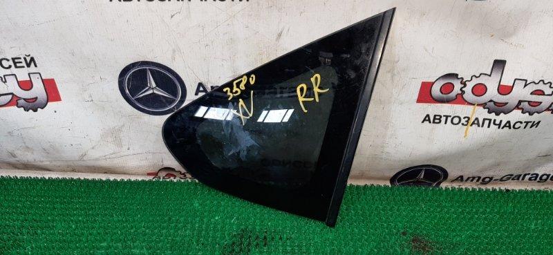Стекло собачника Subaru Impreza Xv GP7-036034 FB20 2013 заднее правое