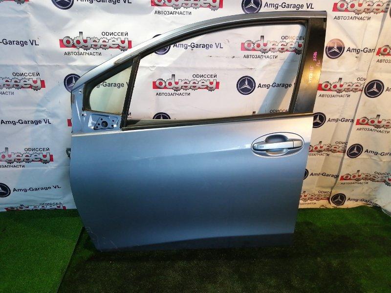 Дверь Toyota Vitz NSP135 1NR-FE 2011 передняя левая