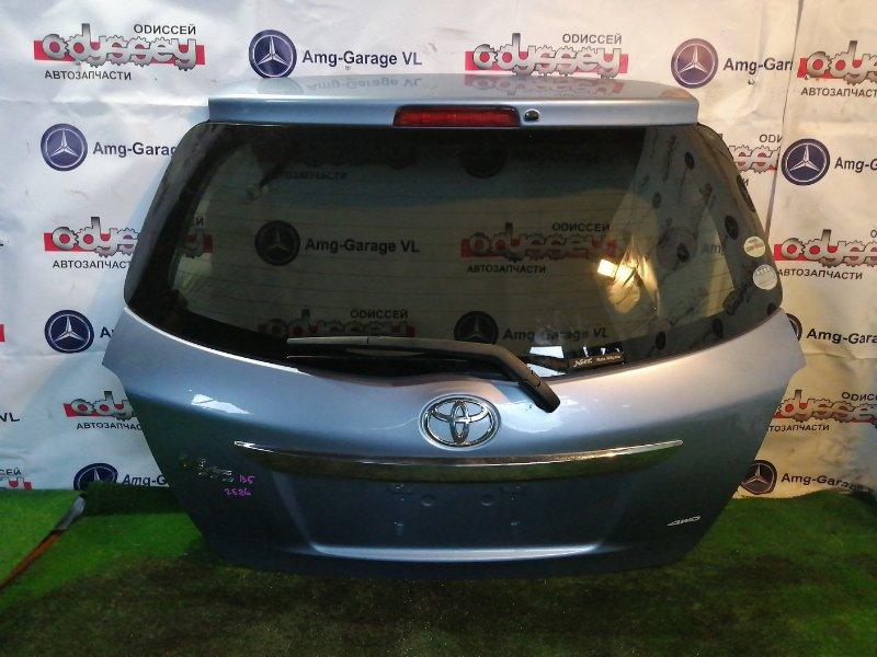 Дверь 5-я Toyota Vitz NSP135 1NR-FE 2011