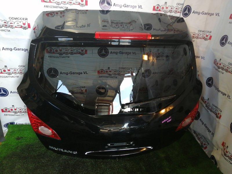 Дверь 5-я Nissan Murano TNZ51 QR25DE 2008