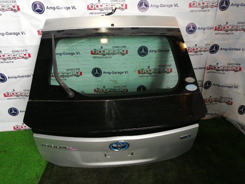 Дверь 5-я Toyota Prius ZVW30 2ZR-FXE 2009 задняя