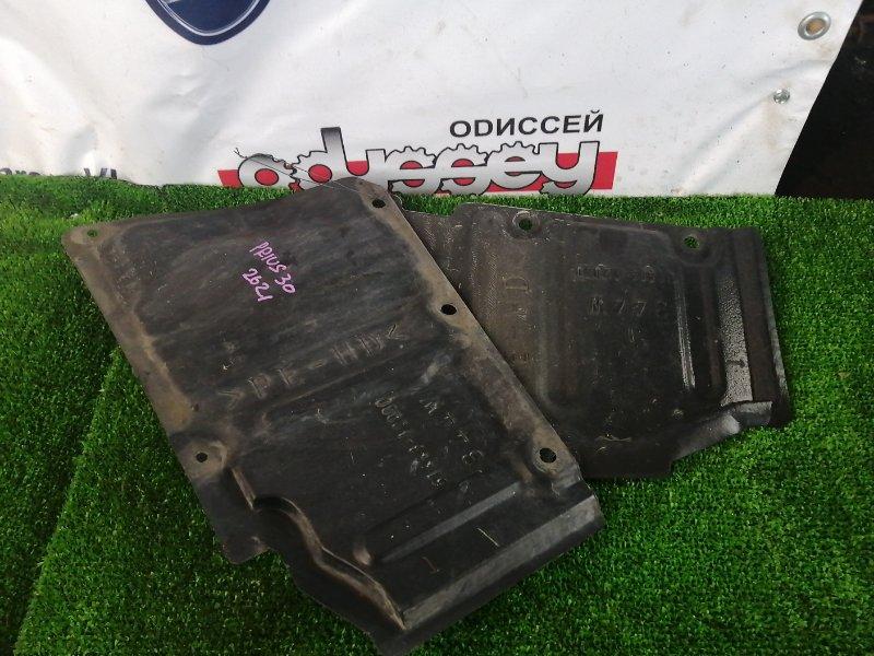 Защита двигателя Toyota Prius ZVW30 2ZR-FXE 2009