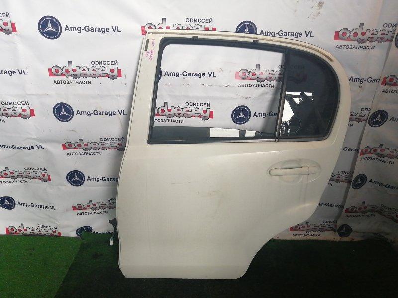 Дверь Daihatsu Boon M600S 1KR 2011 задняя левая
