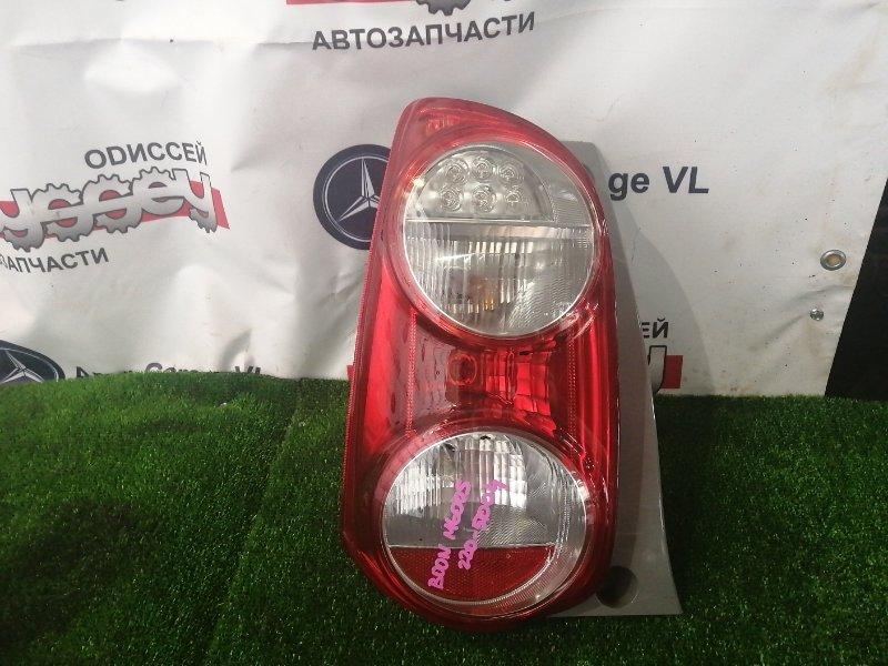 Стоп Daihatsu Boon M600S 1KR 2011 задний левый