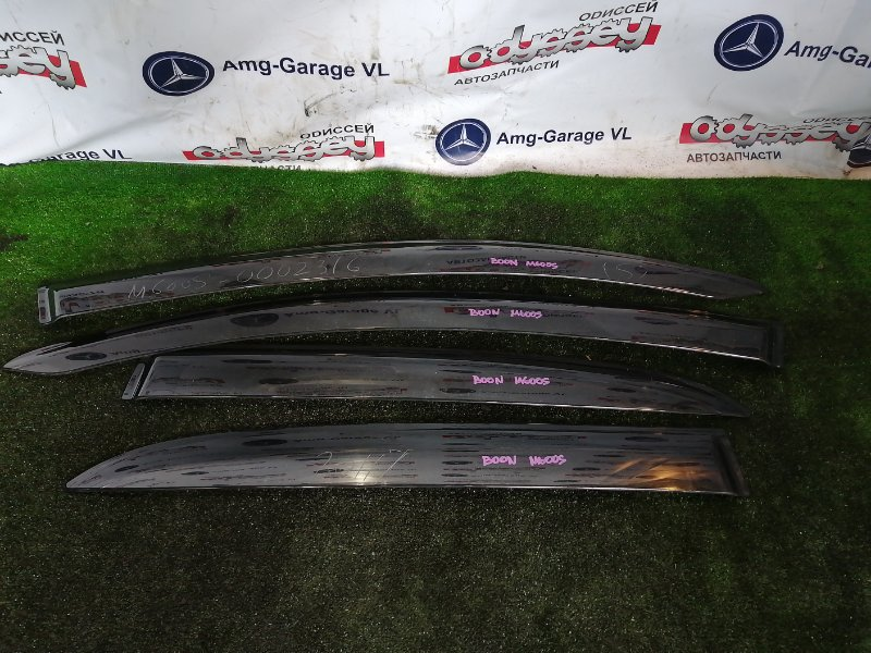 Ветровики комплект Daihatsu Boon M600S 1KR 2011