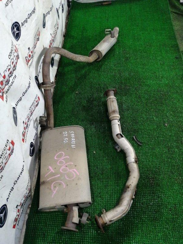 Глушитель Nissan Safari WYY61 RD28TE-478267X 1997