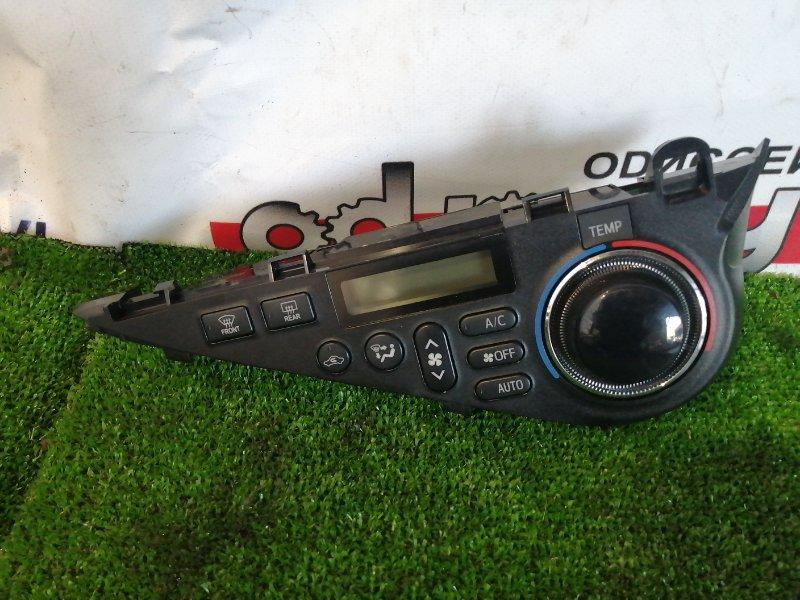 Климат контроль Toyota Aqua NHP10 1NZ-FXE 2012