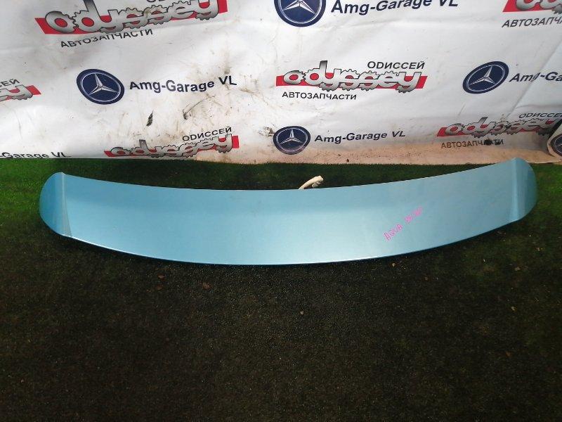 Спойлер Toyota Aqua NHP10 1NZ-FXE 2012
