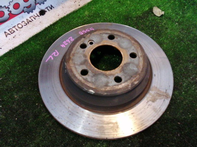 Тормозной диск Mercedes S350 WDB220 112973 2003 задний левый