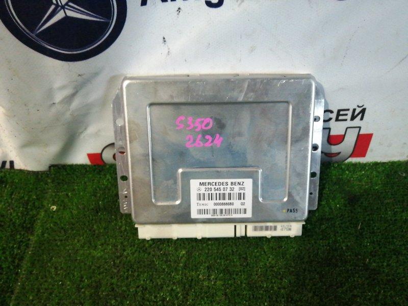 Блок управления подвеской Mercedes S350 WDB220 112973 2003