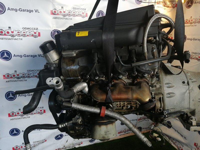 Двигатель Mercedes S350 WDB220 112973 2003