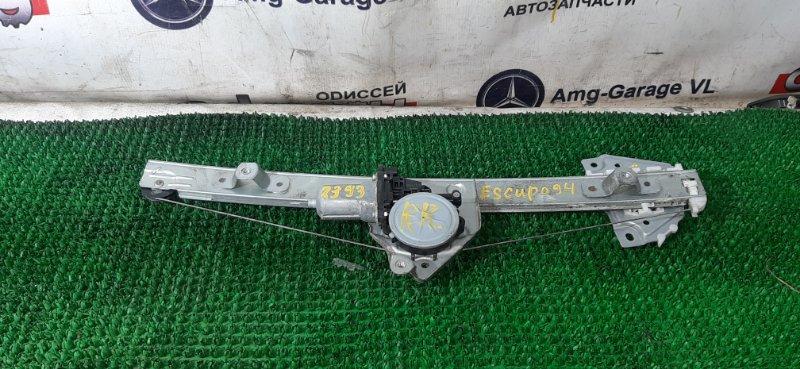 Стеклоподъемный механизм Suzuki Escudo TD94W H27A 2007 задний правый