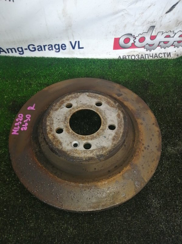Тормозной диск Mercedes Ml320 WDC163 112.942 2002 задний
