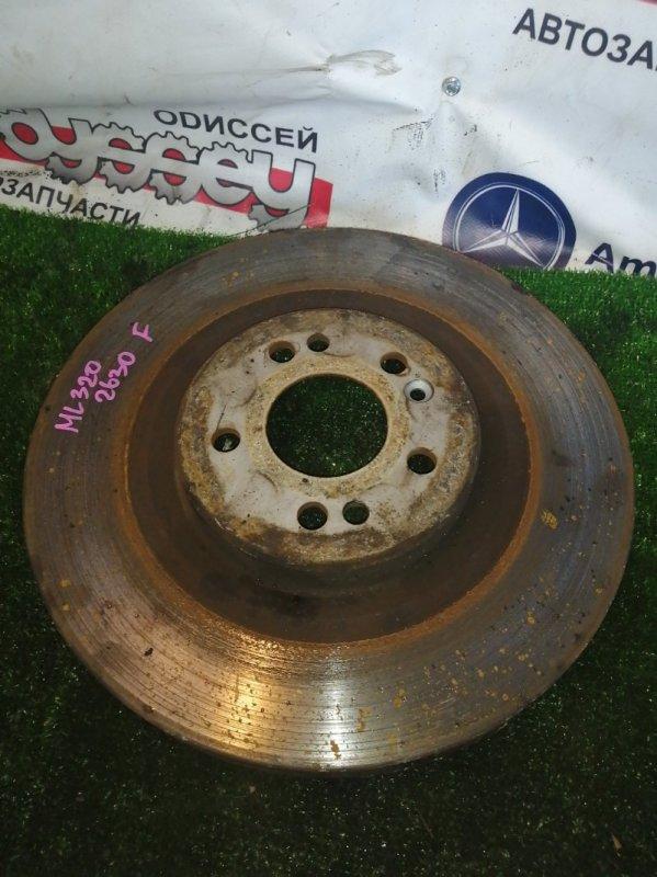 Тормозной диск Mercedes Ml320 WDC163 112.942 2002 передний