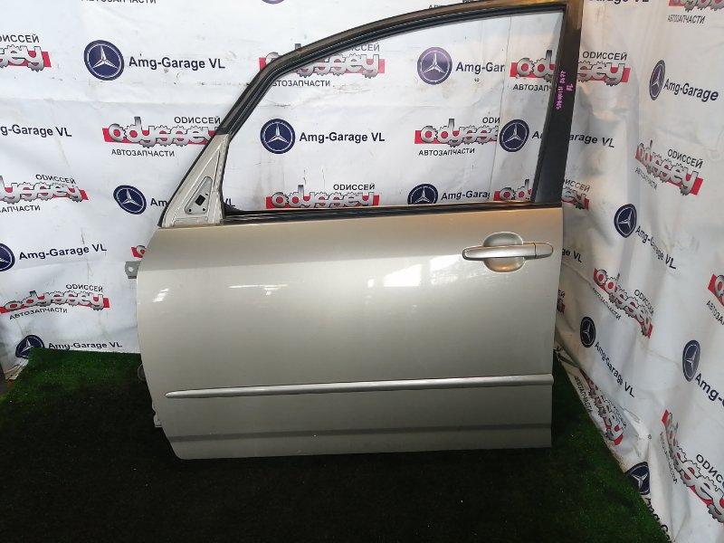 Дверь Toyota Corolla Spacio NZE121 1NZ-FE 2003 передняя левая
