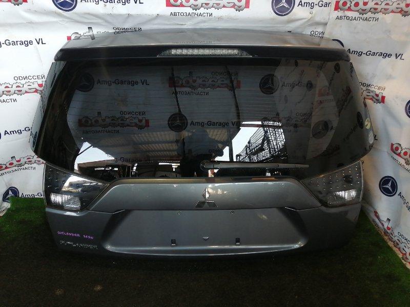 Дверь 5-я Mitsubishi Outlander CW5W 4B12 2007 задняя верхняя