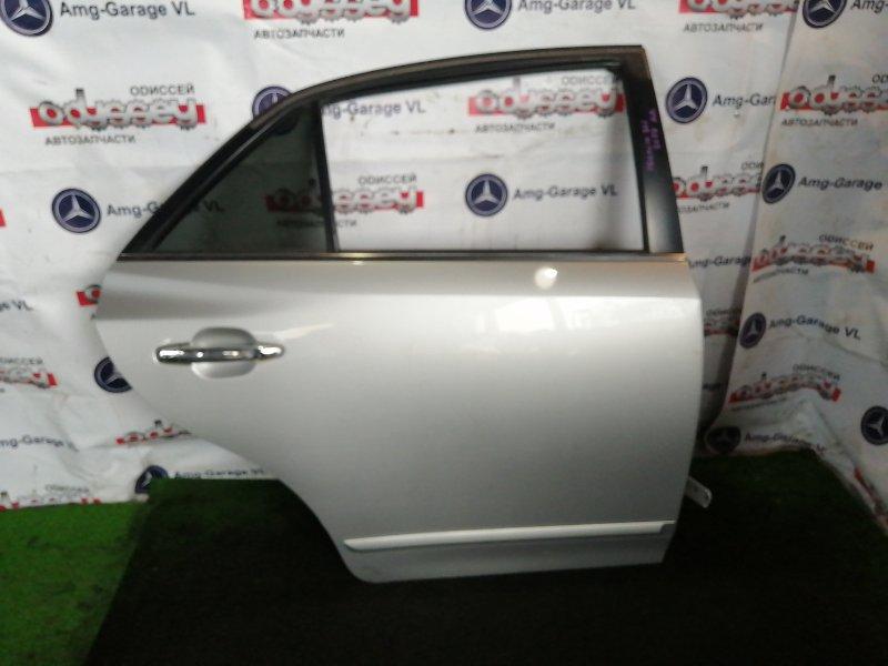 Дверь Toyota Premio ZRT261 3ZR-FAE 2009 задняя правая