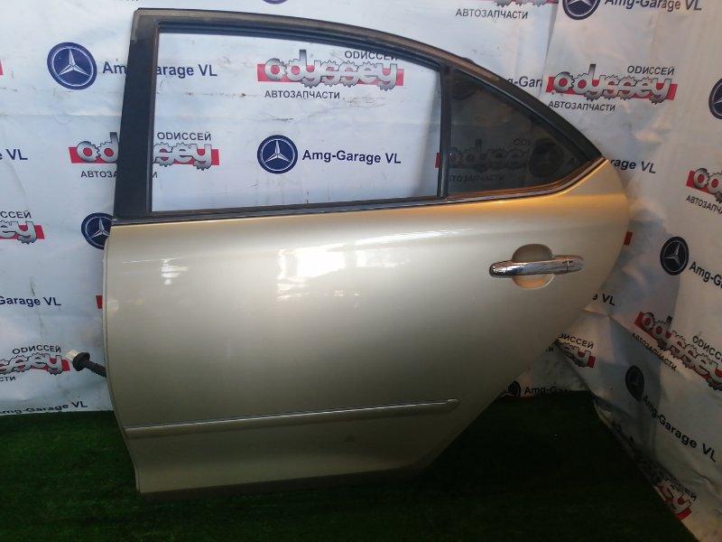 Дверь Toyota Premio NZT240 1NZ-FE 2005 задняя левая