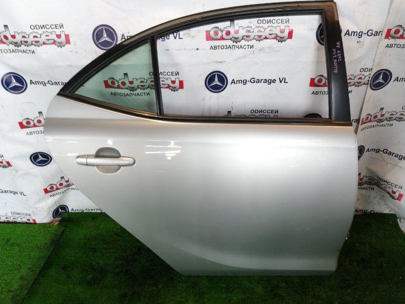 Дверь Toyota Allion AZT240 1AZ-FSE 2005 задняя правая