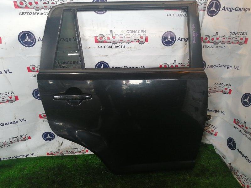 Дверь Toyota Corolla Rumion ZRE152 2ZR-FE 2008 задняя правая