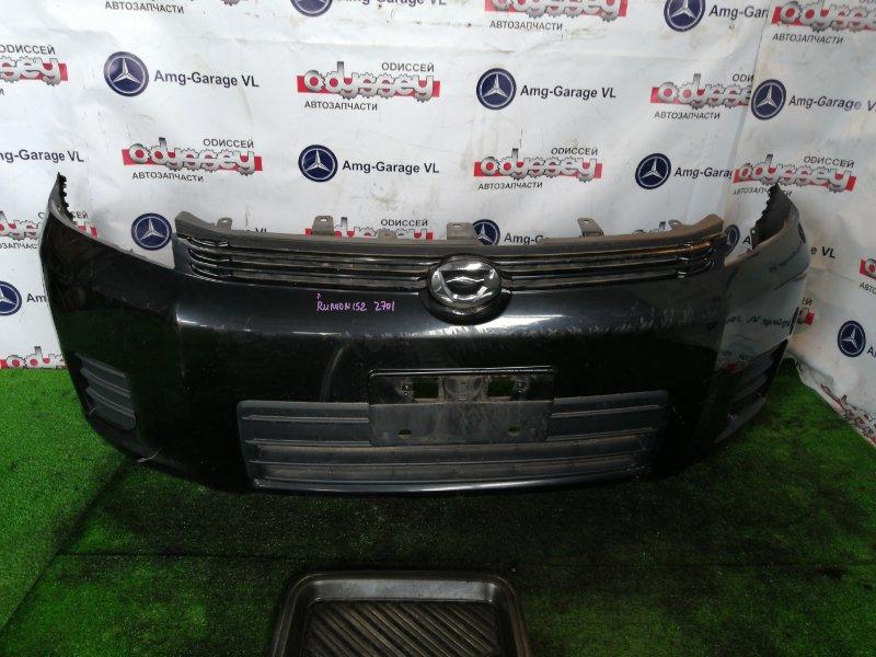 Бампер Toyota Corolla Rumion ZRE152 2ZR-FE 2008 передний