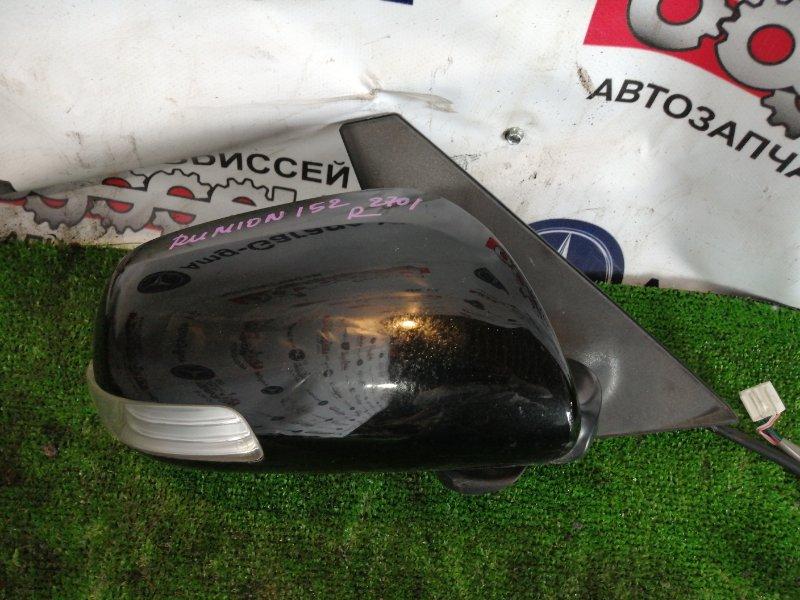 Зеркало Toyota Corolla Rumion ZRE152 2ZR-FE 2008 переднее правое