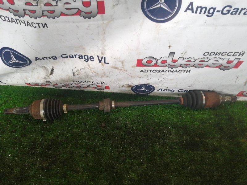 Привод Nissan Latio N17 HR12 2014 передний правый