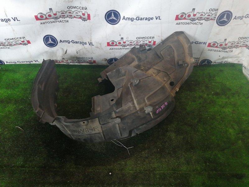 Подкрылок Nissan Latio N17 HR12 2014 передний правый