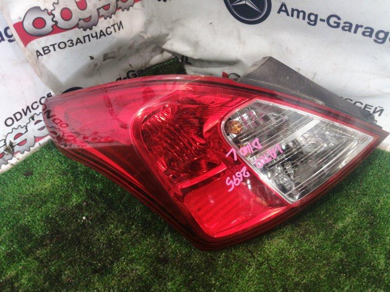 Стоп Nissan Latio N17 HR12 2014 задний левый