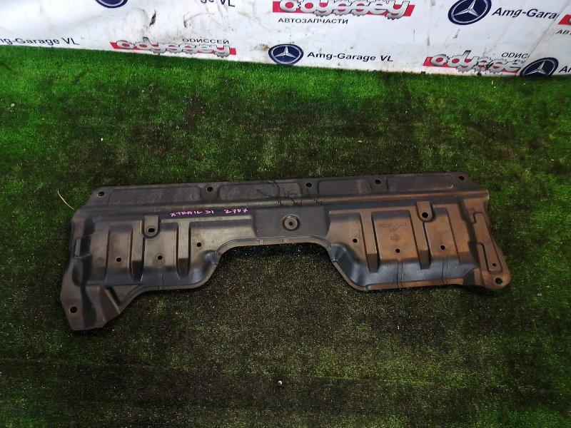 Защита двигателя Nissan Xtrail TNT31 QR25DE 2011