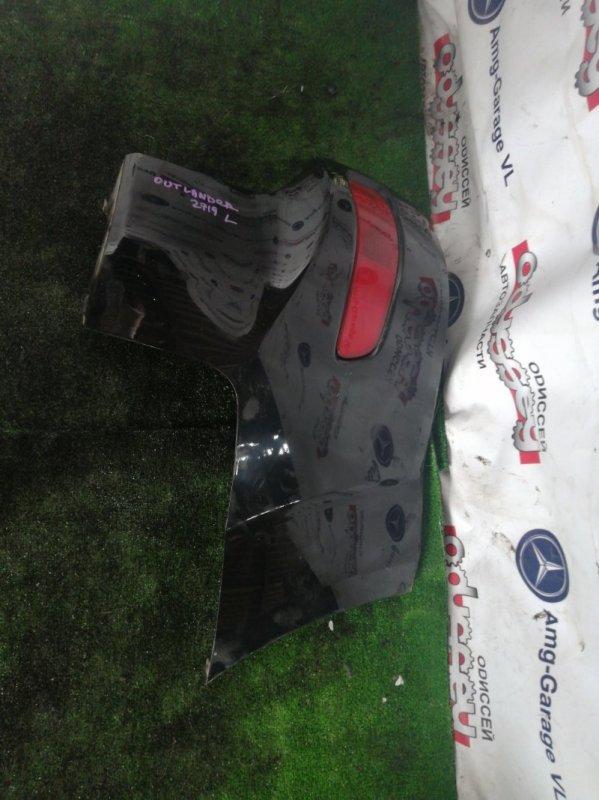 Клык бампера Mitsubishi Outlander CW5W 4B12 2009 задний левый