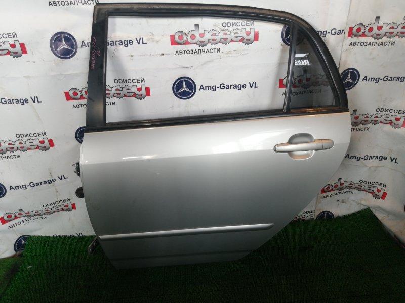 Дверь Toyota Corolla Runx ZZE123 2ZZ-GE 2002 задняя левая