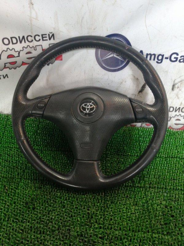 Руль Toyota Corolla Runx ZZE123 2ZZ-GE 2002