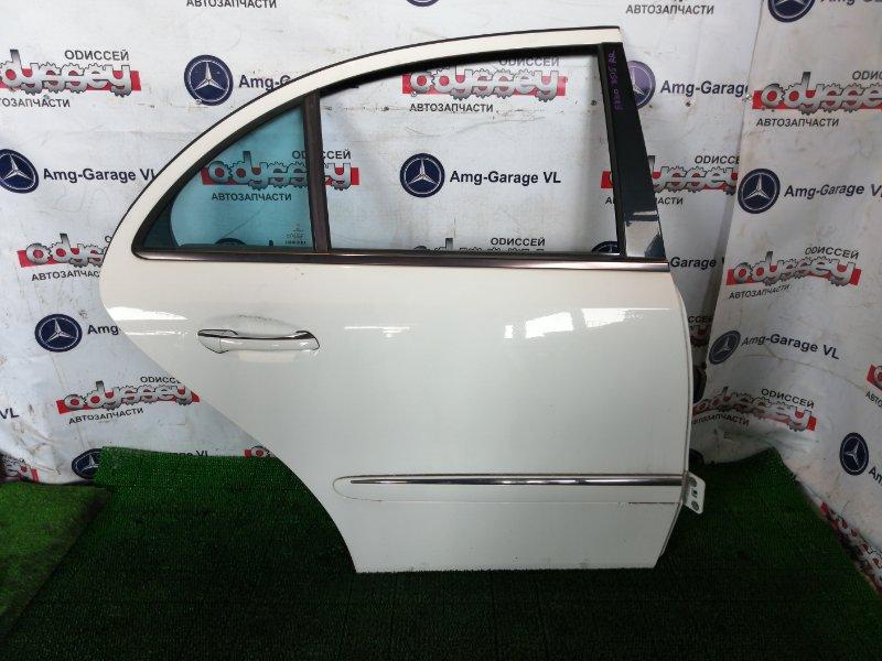 Дверь Mercedes E320 WDB211 112.949 2003 задняя правая