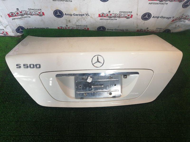 Крышка багажника Mercedes S500 W220 113960 2002