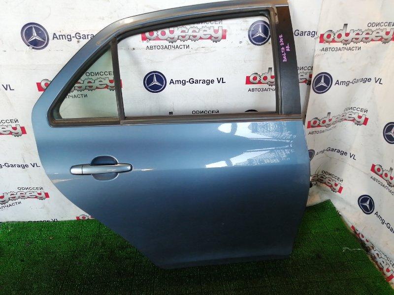 Дверь Toyota Belta NCP96 2NZ-FE 2007 задняя правая